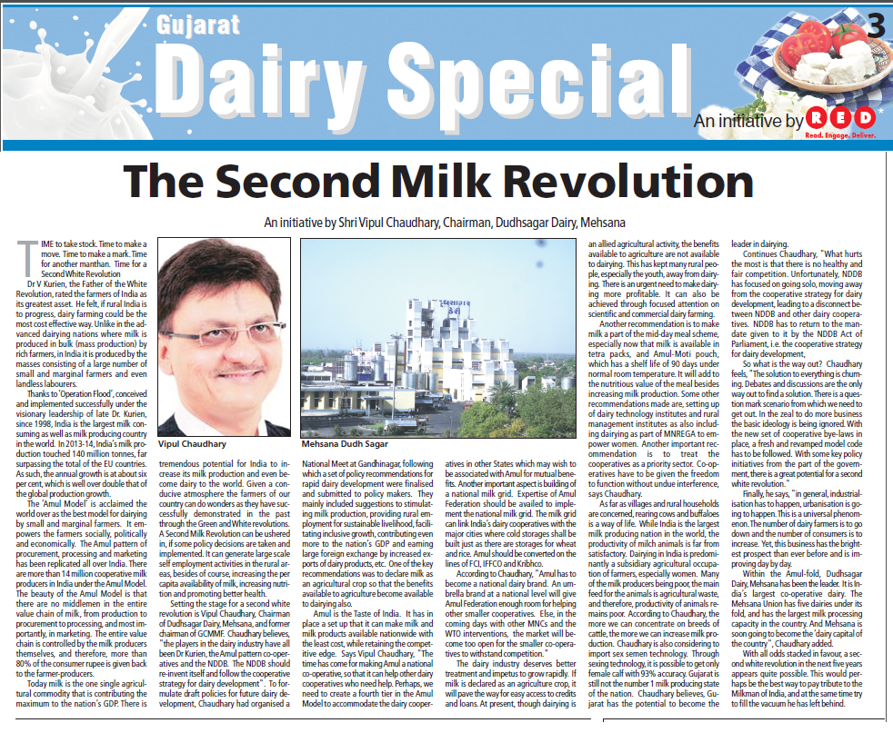 The Second Milk Revolution
